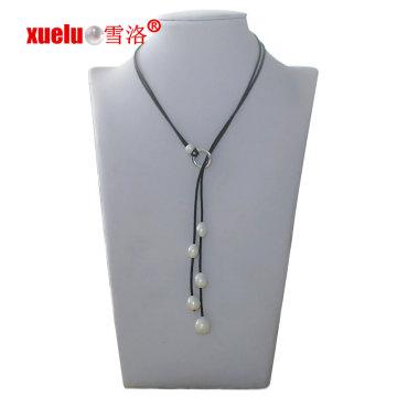 Bijoux en perles à perles d'eau douce à la mode pour cadeau de Noël