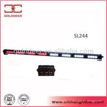 32W conduit de circulation directionnelle lumière rouge blanc clignotant Light Bar (SL244)
