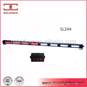 32W Led Traffic Directional Light Red White Flashing Light Bar (SL244)