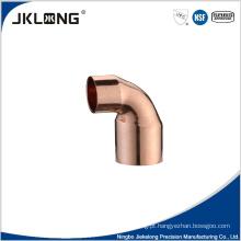 Peças de ar condicionado cobre montagem de tubos cotovelo de cobre