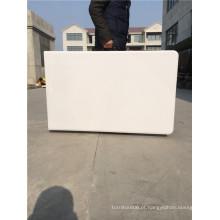 8FT móveis móveis ao ar livre de plástico de mesa dobrável para casamento e uso de festa