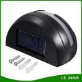 Beliebte Mini Solar LED Zaun Licht 2LED Garten Wandbeleuchtung mit weißen und warmen weißen Lichtfarbe