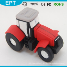 Rote PVC-Auto-Form kundengebundener USB-Blitz-Antrieb (EP057)