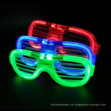 Gläser mit LED-Licht