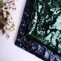 Мода 5 мм блестка вышивка на бархатной ткани