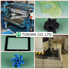 High quality sponge & rubber processing original equipment manufacturer (OEM) in several colors for various uses. Made in Japan