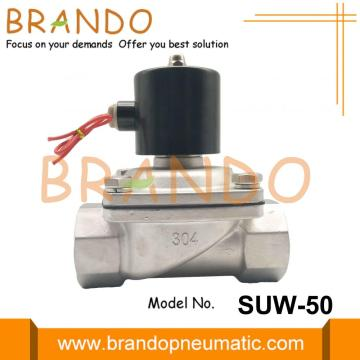 1 '' Katup Air Solenoid Stainless Steel SUW-50 2S500-50