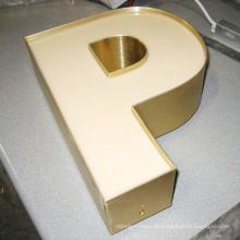 Популярные Водонепроницаемый полноцветный светодиодный акриловый знак письма канала СИД