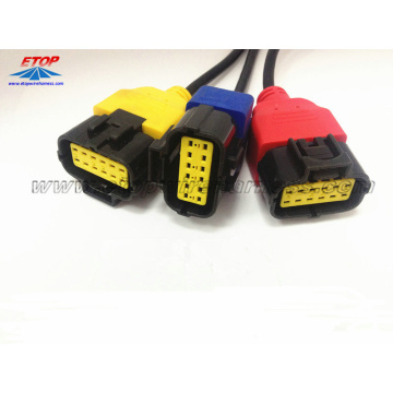 Molex Connector Overmolded For Automobile