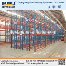 China fornecedor paletes armazenamento prateleira de producto