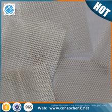 Precio de fábrica malla de plata pura que protege la tela de plata del metal