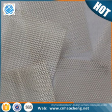 Best Sellers Pure Silver 99.9% Wire Mesh / silver Netting conductive Metal Fabric Laboratory silver net