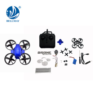 New Product 2.4GHz Mini DIY Technology Educational RC Drone with 0.3MP Wifi Camera For Wholesales