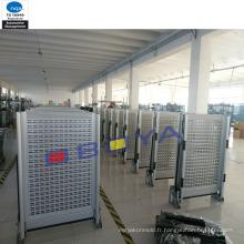 Rampes d'accès aux véhicules en aluminium