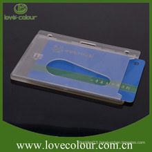 Newest hard rigid plastic ID card holders