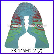 SR-14SM127 2014 New Style Fly knit shoe uppers/seamlessly knitted uppers