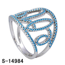 2016 New Design Fashion Brass Jewelry Ring with Turquoise (S-14984)
