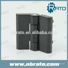 Bisagra de puerta negra RH-186A con recubrimiento en polvo