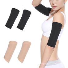 Elastic Compression Arm Warmers Female Men Slimming Calories Arm Sleeves