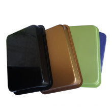 Bandeja de pavo de puntos para hornear pan de colores