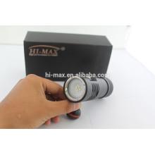 2014 Hi-max V12 4 * XP-G2 R5 LED 2200lm lumière vidéo magnétique portable magnétique