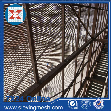 Environmental Expanded Metal Safety Fence