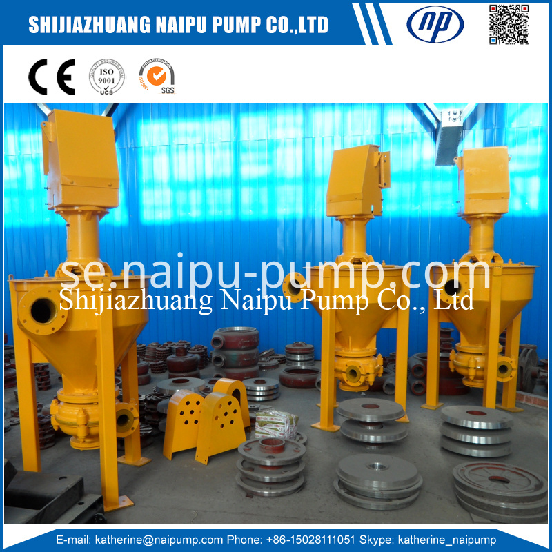 Vertical Froth Pump