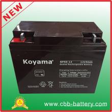 Batería confiable de la batería 12V 50ah Yuaasa Np50-12 AGM de la calidad UPS Batería de las ruedas del poder 12V 50ah