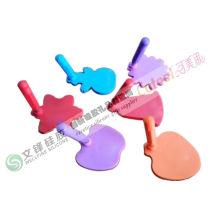 Green Material Silicone Note Pads With Lovely Heart Shape Silicone Eraser
