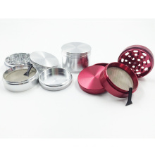 Nice Herbal Tobacco Metal Grinder with Smoke Cigar Crusher (ES-GD-007-L)