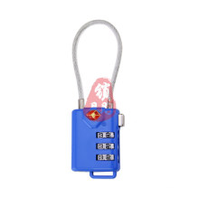 Tsa21105 Serrure à combinaison de câbles pour sac de voyage