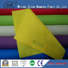 100% PP Spunbond Nonwoven Fabric for Shopping Bags / Gifts Bags