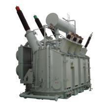 Transformateur de puissance 220 kV à deux enroulements triphasés avec OCTC