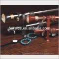 Aluminium-Schiene Doppel-oder Einzel-Halterung für Aluminium Kunststoff dekorative Stange