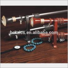 aluminum rail double or single bracket for aluminum plastic decorative rod