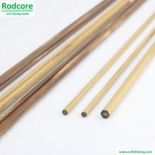 6ft 4wt Mão Feito Splitted Tonkin bambu Fly Rod em branco