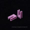 Alúmina cerámica buena cerámica rosa tipo u