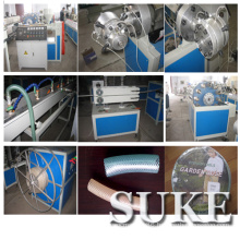 PVC Fiber Reinforced Soft Pipe Extrusion Making Machine (SJ65X30)