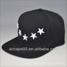 2013 gorras y sombreros negros de encargo del snapback
