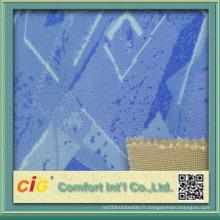 Tissu lié à la mousse colorée à la nouvelle conception de haute qualité