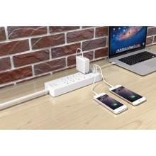 ORICO USP-10A3U-US Desktop ganze Haus Überspannungsschutz 10 * AC + 3 * USB-Ladegerät am besten Überspannungsschutz Gerät Steckdose