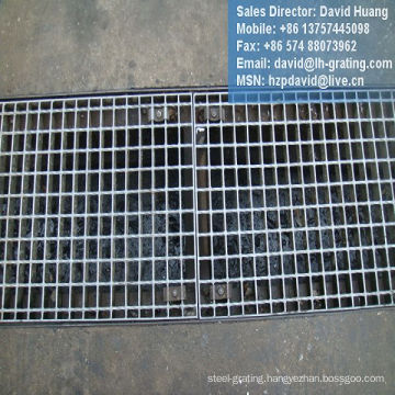 Galvanized Channel Grate Steel Floor for Drain Trench