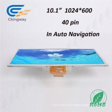 Ângulo de Visualização Ultra Wide 10.1 Inch 40 Pin Color (RGB) Displays