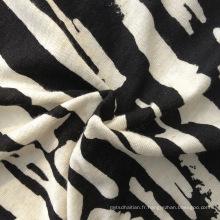 Maillot imprimé à rayures / tricot rayé (QF13-0284)