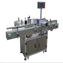 Máquina de etiquetado lineal para etiquetas autoadhesivas con impresora