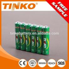 R03 углерода цинка батареи размера aaa с дешевой цене
