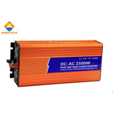 CE RoHS Approved 12V/24V 2500W Pure Sine Wave Inverter