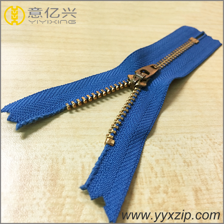 Customized Accessories Metal Zipper