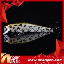 NBL9263 52mm minnow dur pêche appuie flottant appât