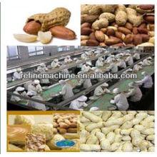 Línea de procesamiento de cacahuete